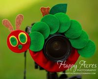 Lens Bling -Very Hungry Caterpillar - Ready to Ship. $21.00, via Etsy.