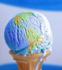 #Earthday #icecream!
