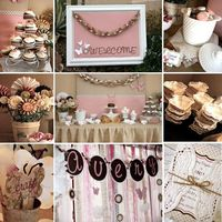 1st birthday party idea...vintage butterfly theme