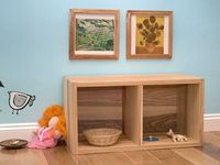love this Montessori inspired room for an infant