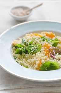 Orange and Mint Couscous Salad