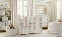 white pink baby nusery