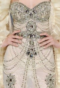 Wow, I am not really into fashion, but this is BEAUTIFUL. (Zuhair Murad, Designer)