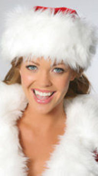 Don't like the Santa Hats with the long tail and whit bow getting in your face? Try this Santa Hat, it looks exactly as pictured with no tail.