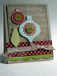 Stamps, Paper, Scissors: Ornament Keepsakes