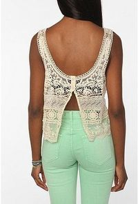 lace and mint -love the shirt