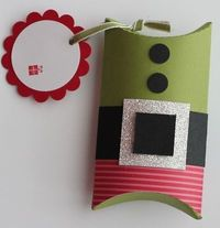 Elf box with pillow box die (video also)