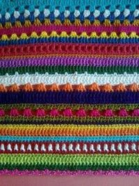 Crochet Multiple Colors : multi stitch crochet blanket / crochet ideas and tips - Juxtapost