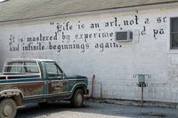 words on the wall