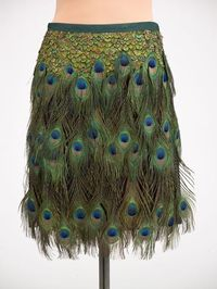 Prada as a Peacock!!