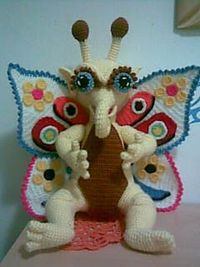 It's Funky & Fun!!! Fairy Butterfly by Amigurumi Artist