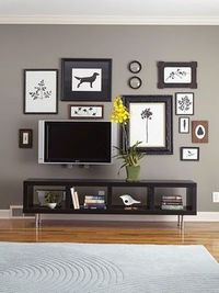 Decorate around a tv