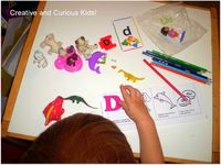 Creative and Curious Kids!: Letter Dd Activities