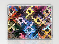 """Ipad skin """"Quilted GlassA""""A"""