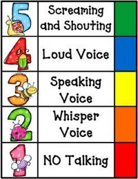 Little Warriors: volume control. A bunch of great noise charts!