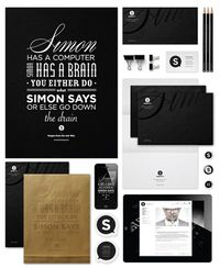 Simon Says - Corporate Identity, 2012 by José Simon