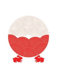 Lovely Rabbits and Moon / by dekanimal on Etsy