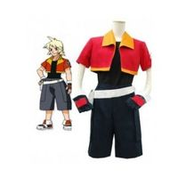 Pokemon Jacky Handsome Cosplay Costume