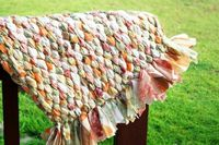 hmm wonder if I could do this one.....old sheet into a rag rug!