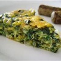 Crustless quiche! Going to do my own twist on this with leeks, mushrooms and zucchini. Pretty excited.