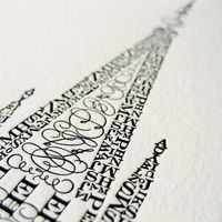 art with letters
