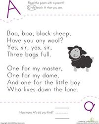 Slideshow: Nursery Rhyme ABCs