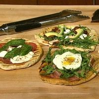 Personalized Grilled Pizza-The Chew