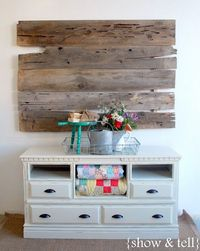 "{Before & After} �€"" dresser turned TV console 