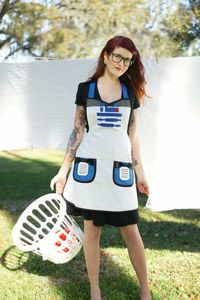 r2d2 apron by haute mess threads