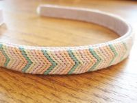 Make This - Knotted Chevron Headband - Luxe DIY - How Did You Make This?