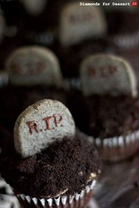 Graveyard Cupcakes (could take it even further)