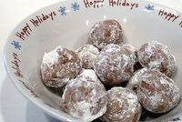 Hot Chocolate Snowballs