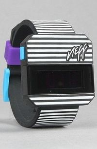 The Digi Watch in Stripe by NEFF | Karmaloop.com - Global Concrete Culture - StyleSays