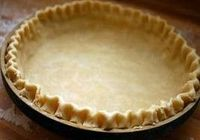 Easy Pie Crust you make in your food processor!