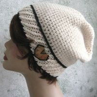 Womens Crochet Slouch Hat Pattern With by kalliedesigns on Etsy, $4.00