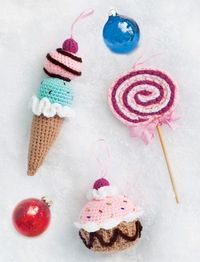 Sweet Shop Ornaments | crochet today