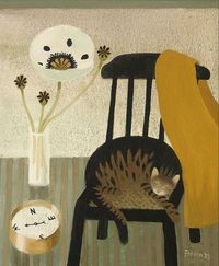 Mary Fedden, The Poppy, the Cat & the Compass, 2005