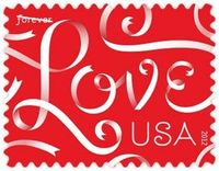 Can't wait for this Louise Fili Love #ribbon #stamp