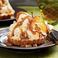 Caramel Apple Ice-cream Tart