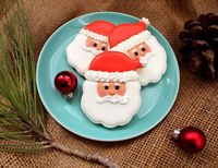 Santa Face Cookies tutorial