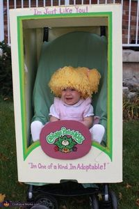 Cabbage Patch Doll - cool that it works with a stroller