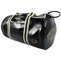 Fred Perry Bag - Classic Duffle style bag from Fred Perry. Perfect for sports or taking to the gym. With easy top access to get to your belongings and a handy side pocket. There is no alternatice