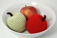 Amigurumi apples