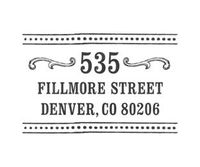 Just ordered this custom return address stamp! I love it!