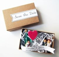 Michiemay Paperie save the date box