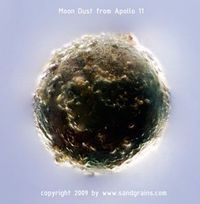 Moon Dust from Apollo 11