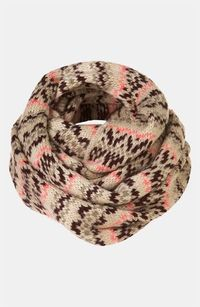 ++ fair isle snood
