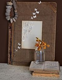 upcycle old books into art