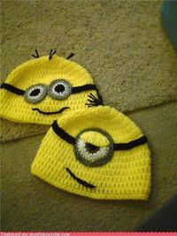 Despicable Me Minion Hat Gunna try Make this . . .