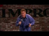 Brian Regan- funny guy. Clean comedy.